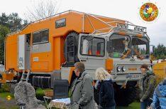 Fernreisemobil auf Heavy Duty MAN Kat 1 Basis. (Foto: det)