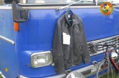 Sonderangebot, kaum getragen: Cooler Kittel für nur 30 Euronen. (Foto: det)