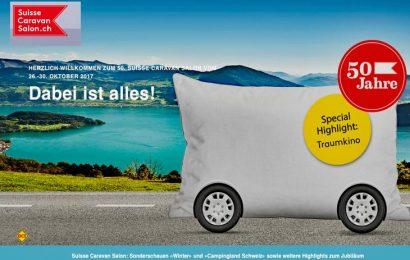 Branchen Höhepunkt mit Jubiläum in der Schweiz: Der 50. Suisse Caravan Salon findet in Bern statt. (Foto: Suisse Caravan Salon)