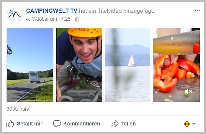 Das Videoportal campingwelt.tv bringt viele Themen professionell aufbereitet zum Betrachter. (Foto: screenshot / tom)
