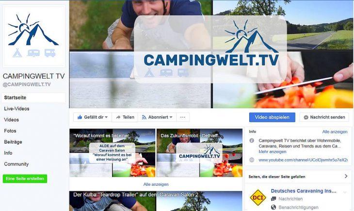 Campingwelt.tv ist ein neues, frisches Video-Angebot von Jorg Langfeld. (Foto: screenshot / tom)
