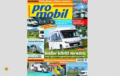Die Fachzeitschrift promobil hat erstmals die Abgaswerte von vier gängigen Basisfahrzeugen im Realbetrieb gemessen. (Foto: Motor Presse)