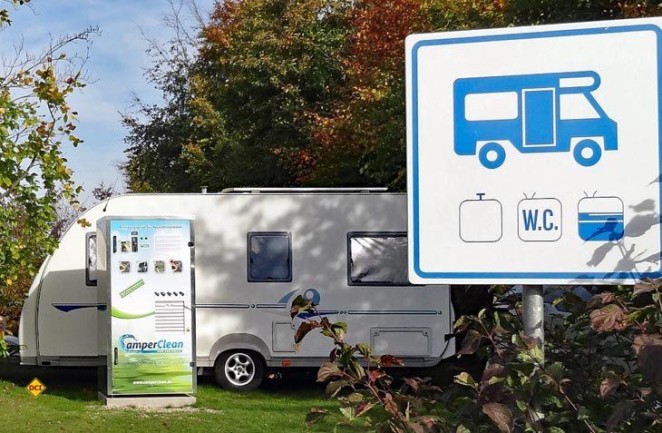 """""""Seecamping Langlau"""" am Brombachsee hat die vollautomatische Reinigungsstation CamperClean erfolgreich eingesetzt. (Foto: CamperClean)"""