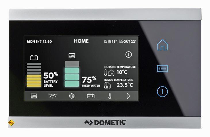 Alles im Griff in Reisemobil und Caravan mit dem neuen Dometic Connect-System. (Foto: Dometic)