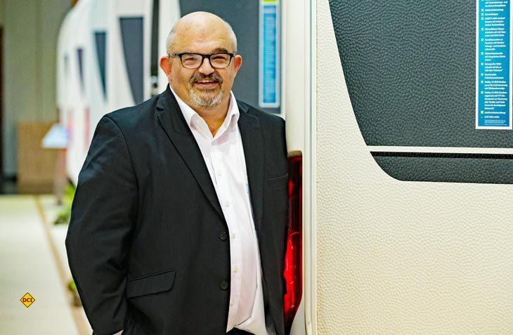John Hindle ist Geschäftsführer und Eigentümer von Hobby GBI und betreut 22 Handelsbetriebe in UK und Irland. (Foto: Hobby)