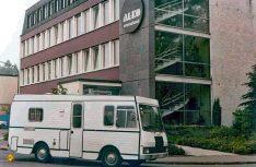 Das erste werkseigene Reisemobil mit italienischem Aufbau auf einem amc-Chassis. (Foto: D.C.I.-Archiv / Al-Ko)