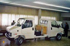 Geniale Idee: Zwei aneinander geflanschte Triebköpfe warten auf den Transport. (Foto: Archiv D.C.I. / Al-Ko)