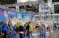 Auch im Osten immer auf Empfang: Teleco mit den bewährten Sät-Anlagen. (Foto: det)