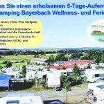 Gewinnen Sie einen wunderbaren Aufenthalt bei VITAL Camping Bayerbach