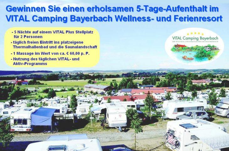 VITAL Camping Bayerbach - herrlich gelegen im Rottal in Niederbayern. Genießen Sie einen Aufenthalt mit Fünf-Sterne-Wellness-Camping. (Foto: Vital Camping Bayerbach)