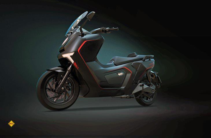 """Das Projekt X wird die Reichweite der NIU-Fahrzeugreihe steigern und die Marke auf die leistungsstärkere Kategorie """"Motorroller"""" mit einer Höchstgeschwindigkeit von 120 km/h und einer Reichweite von bis zu 160 km erweitern. (Foto: NIU)"""