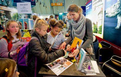 Kinder beim Schultag auf der CMT. (Foto: Messe Stuttgart)