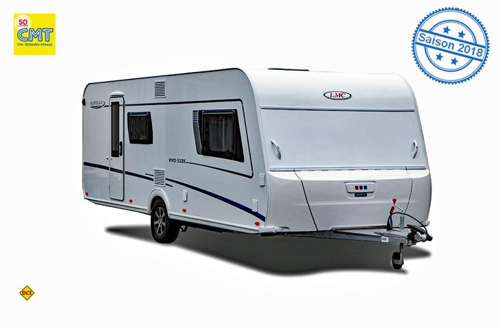 Mit dem Caravan-Aktionsmodell Vivo 532 K zeigt LMC erstmals Elemente der Caravan Generation 2019. (Foto: LMC)