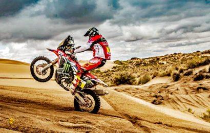 Das Honda Racing Team baut auch für die Dakar 2018 wieder auf die Begleitfahrzeuge von Laika. (Foto: HRC Honda)