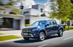 """Die neue X-Klasse erhält beim unabhängigen Sicherheitstest """"Euro NCAP-Test"""" mit fünf Sternen die bestmögliche Bewertung. (Foto: Mercedes-Benz)"""