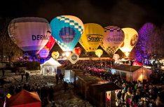Absoluter Höhepunkt ist das nächtliche Ballonglühen mit großer Fete. (Foto: Tegernsee Tourismus)