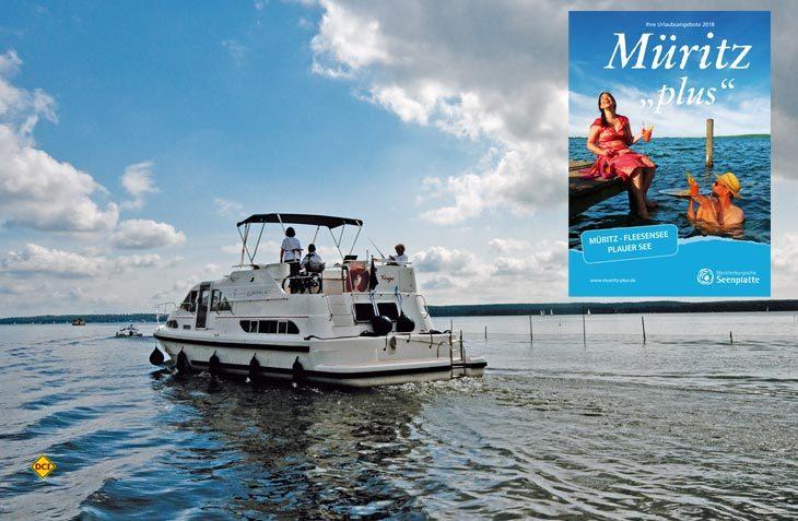 """Schon jetzt den Sommerurlaub 2018 in der Mecklenburger Seenplatte planen - das aktuelle Magazin """"Müritz plus"""" informiert umfassend und erleichtert die Urlaubsplanung. (Foto: Müritz plus)"""