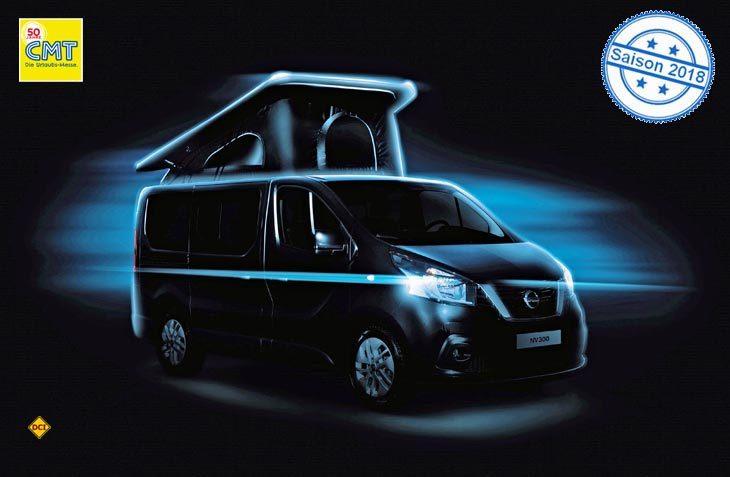 Mit dem Campingbus Michelangelo auf dem NV300 steigt Nissan wieder aktiver in die Reisemobil-Sparte ein. (Foto: Nissan)