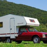 Wohnmobil-Oldtimer – Bimobil Husky auf Peugeot 504