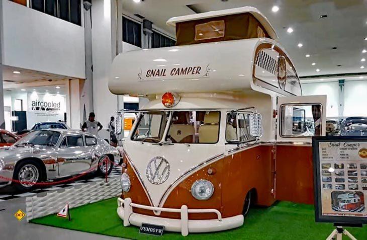 Abgefahren: Yumos aus Indonesien baut VW Bullis als Retro-Camper um. (Foto: Yumos)