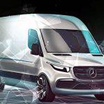 Mercedes-Benz – Neuer Sprinter kommt mit Front- und Elektroantrieb