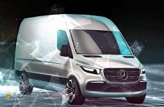 Die neue Generation des Mercedes-Benz Transporters Sprinter soll 2018 an den Start gehen. (Foto: Werk)