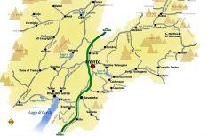 Übersichtskarte Trentino. (Grafik: Wikipedia)