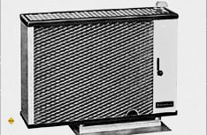 Die erste Wohnwagenheizung Truma-matic aus dem Jahr 1961.(Foto: Truma)