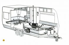 Montageplan einer kompletten Gasanlage für einen Caravan. (Grafik: Truma)