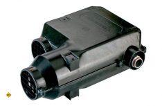 Klein und kompakt: Die erste elektronisch geregelte Heizung, die Trumatic E von 1993. (Foto: Truma)