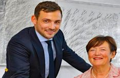 Die dritte Generation: 2015 tritt Alexander Wottrich in die Geschäftsführung von Truma ein und folgt seiner Mutter Renate Schimmer-Wottrich). (Foto: Truma)
