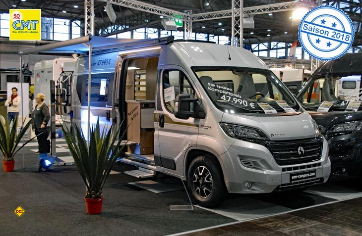 WOF bietet neben der Marke Bela jetzt auch hochwertige Vans der Marke Bavaria an. (Foto: det)