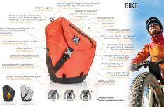 Die neuen Sporttaschen von X-Over sind ideale Reisebegleiter für Walken, Wandern, Trekking, Freeriden, Skaten, Snowmobiling, Radfahren oder Motorradfahren. (Foto: X-Over)