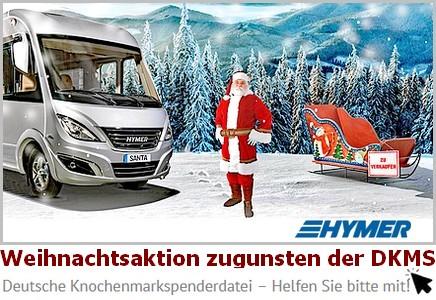 Spenden für die DKMS. Hymer startet seine alljährliche Sammelaktion (Foto: Werk)