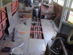 Stück für Stück und Stahlblech für Stahlblech geht es voran. (Foto: ls)
