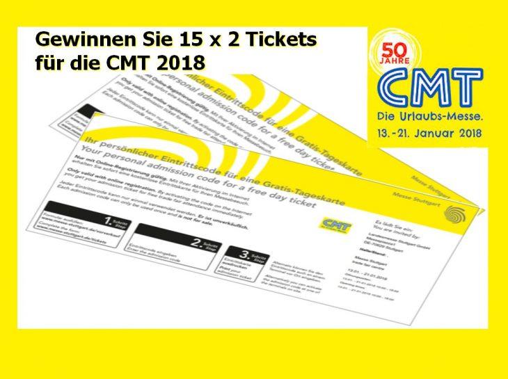 Gewinnen Sie Eintrittskarten für die CMT 2018 - und besuchen Sie das D.C.I. an unseren Stand (Foto: tom/Montage)