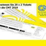 20 x 2 Eintrittskarten für die Urlaubsmesse CMT 2019 zu gewinnen