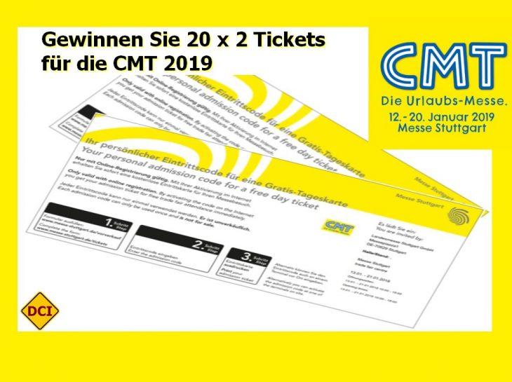Sie können dabei sein! Zum dritten Mal in Folge ist die CMT in Stuttgart zur besten Reisemesse Deutschlands gewählt worden. (Foto: det / D.C.I.)