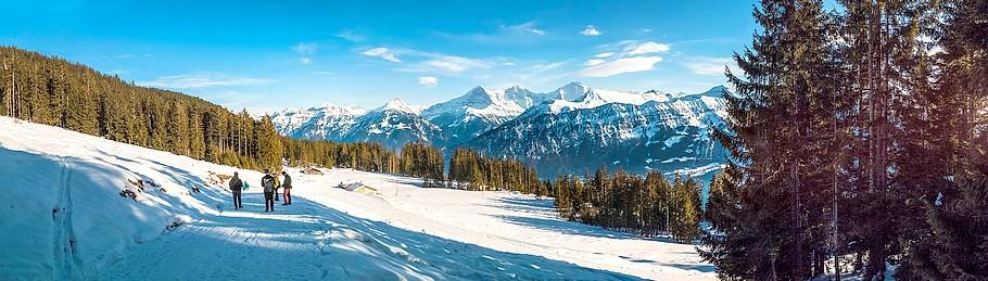 Herrliches Panorama gibt es gratis dazu. Wintersport an der Cote d'Azur. (Foto: pixabay.com/lukasbieri)