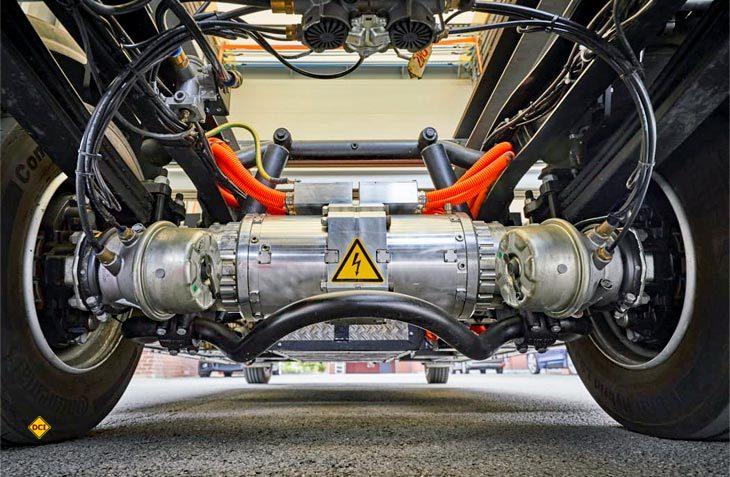 Auch ein Ansatz für Reisemobile: Bestehende Nutzfahrzeuge lassen sich mit der elektrischen Antriebsachse eTransport von BPW auf Zero Emission umrüsten. (Foto: BPW Bergische Achsen KG)