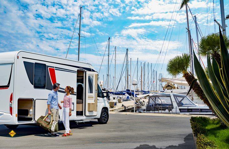 Der Deutsche Caravaning Handels-Verband DCHV fordert einen intelligenten Ausbau der Infrastruktur für Reisemobile. (Foto: CIVD)
