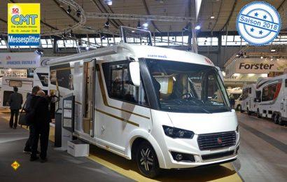 Mit dem Integra 700 HB komplettiert Eura seine Top-Baureihe um einen Grundriss mit einem großen, abtrennbaren Raumbad vor dem Heckquerbett. (Foto: det)