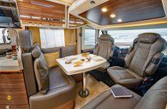 Die Sitzgruppe mit Lounge-Charakter im neuen Integra 700 HB von Eura. (Foto: Werk)