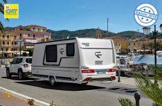 Der Bianco Emotion 445 FH verfügt über eine multifunktional nutzbare große Bug-Garage und einen besonderen Grundriss. (Foto: Fendt)