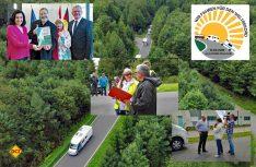 Gisela und Dieter Goldschmitt gelten als Initiatoren des Wohmnobil Konvois in Walldürn. 2018 gibt es eine Neuauflage mit dem Konvoi der 1.000. (Fotomontage: D.C.I.)