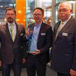 Messesplitter CMT 2018 – DCC-Sicherheitspreis 2018 für Hymer B-Klasse