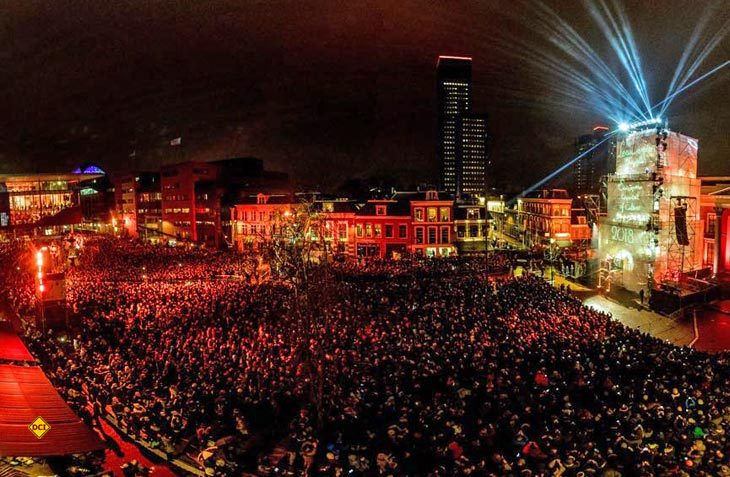 Mit einer furiosen Eröffnungsfeier startete Leeuwarden in das Kulturhauptstadtjahr 2018. (Foto: NBTC)