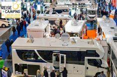 Die Messe Reise + Camping in Essen ist die größte Frühjahrsmesse zum Thema Reisen und Caravaning in Nordrhein-Westfalen. (Foto; Messe Essen)