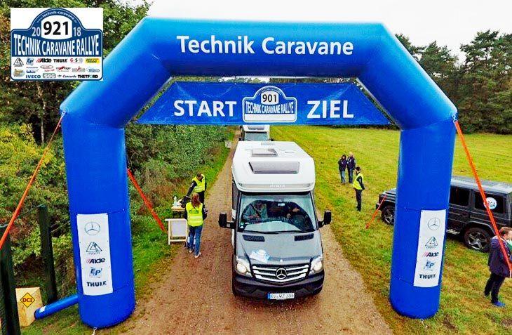 Die dritte Technik Caravane Rallye findet 2018 Ende Mai im unterfränkischen Aschbach statt. (Foto: Technik Caravane)