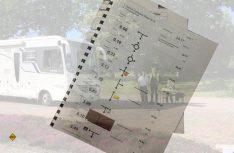 Echtes Rallye-Feeling: Für die Tour gibt´s ein professionelles Roadbook für alle Teilnehmer. (Foto: Technik Caravane)